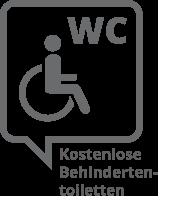 kostenlose toilette für behinderte
